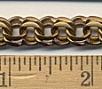 Brass Double Cable chain<br>50 feet for