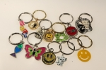 Novelty Key Ring Holders<br>2 Dozen Assortment<br>For