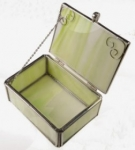 Glass Jewelry Box<br>1 For
