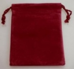 Velvet Drawstring Pouches<br>1 Dozen For