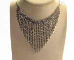 Rhinestone Fringe Necklace<br>1 For