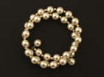 Memory Wire Pearl Bracelet<br>1 Dozen For