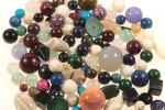 Semi-Precious Bead Assortment<br>1/2 Pound For