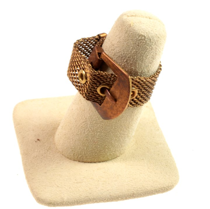 Wolf E Myrow Inc , mesh adjustable finger ring, Wholesale jewelry
