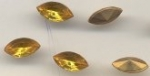 Navette 10 x 5mm Topaz<br>2 gross for