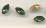 Navette 10 x 5mm Green Turmaline<br>2 gross for