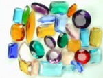 Glass Rhinestone Assortment<br>1 pound for