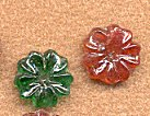 Glass Flower Stone<br>1 gross for