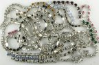Swarovski Rhinestone Chain Assortment<br>1/2 pound for