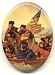Plastic Limoge - Washington Crosses the Delaware<br>2 dozen for