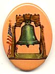 Plastic Limoges - The Liberty Bell<br>2 dozen for