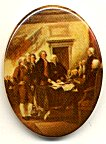 Plastic Limoge - Signing the Declaration of Independence<br>2 dozen for