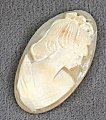 Genuine Shell Cameo<br>2 pieces for