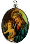 Religious Limoge<br>40 x 30mm<br> 1 dozen for