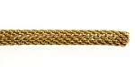 Brass Mesh Chain<br>3.5mm Round Mesh<br>164 feet for