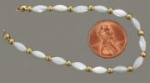 Mother of pearl Strands<br>1 dozen for