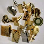Vintage Cuff Link Assortment<br>1 dozen pair for