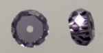 Cubic Zirconia Beads<br>5.9mm Rondelles<br>72 pieces for