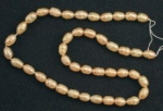Fresh Water Potato Pearl<br>16 Inch Strands<br>2 Strands For