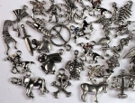 Charm Assortment<br>50 Pieces For