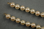 8 MM Glass Pearl Necklace<br>8 pieces for