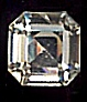 Swarovski Square Octagon<br>Art 4671<br>10mm Crystal<br>1 dozen for