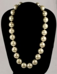 Imitation Pearl Necklace<br>18 inch lengths<br>1 For