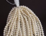 4 MM Plastic Pearl Bead.<br> 1 dozen strands for