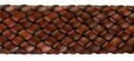 Tubular Leather Braid<br>20mm<br>1 Yard For