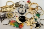 Novelty Key Ring Holders<br>3 Dozen Assortment<br>For