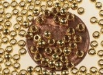 2.5 MM Brass Bead<br>1000 For