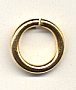 Brass Jump Rings<br>19mm diameter<br>1 Pound For