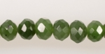 African Jade beads<br>16 Inch Strand<br>One Strand for