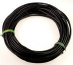 Rubber Cord<br>3.5mm Black<br>15 Yards For