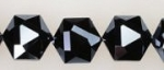 Hexagon Bead <br>Hematite<br>1 Strand For