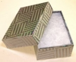 "Silver Foil Box<br>3""x 2""x 1 ""deep<br>1 Dozen For"
