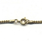 Brass Venetian Box Chain Necklaces<br>16 inch Lengths<br>72 necklaces for