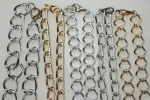 Assorted Aluminum chains<br>1 Dozen For