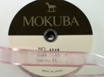 Mokuba Ribbon- pink<br>15 Meters For