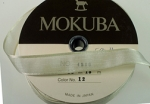 Mokuba Ribbon-Ivory<br>15 Meters For