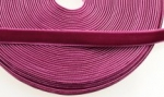Velvet Ribbon <br>3/8 Inch Wide-Boysenberry,<br>10 Yards For