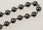 8MM Plastic Pearls<br>1 Dozen 36 Inch Strands For