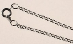 Sterling Plated Necklace<br>18 Inches<br>1 Dozen For