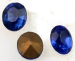 Glass Ovals<br>12 x 10mm Colors<br>1 gross for