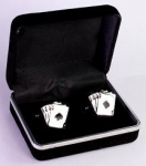 Four Aces Cuff Links<br>1 Set For
