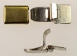 Hinged Box And Tongue Clasp<br>1 Gross For