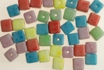 8MM Glass Beads<br>Pastel Colors <br>1 pound For