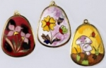 Cloisonne Pendant <br>Set of 6 For
