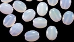 11 X 9mm Glass Lentil Beads<br>1/2 Pound For