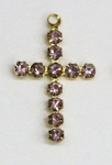 Rhinestone Crosses<br>1/2 gross for